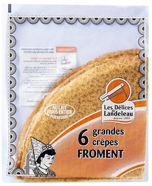Grandes crêpes Froment (x6)