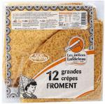 Grandes crêpes Froment (x12)